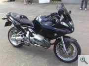 BMW R1100s egyedi motorülés 1.